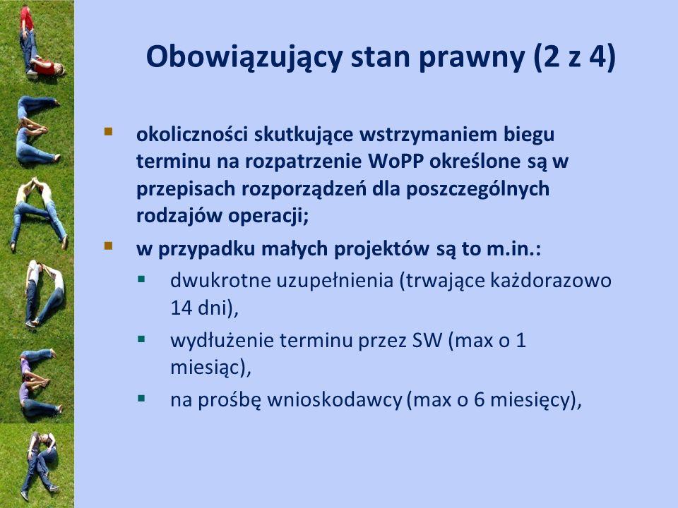 Obowiązujący stan prawny (2 z 4)