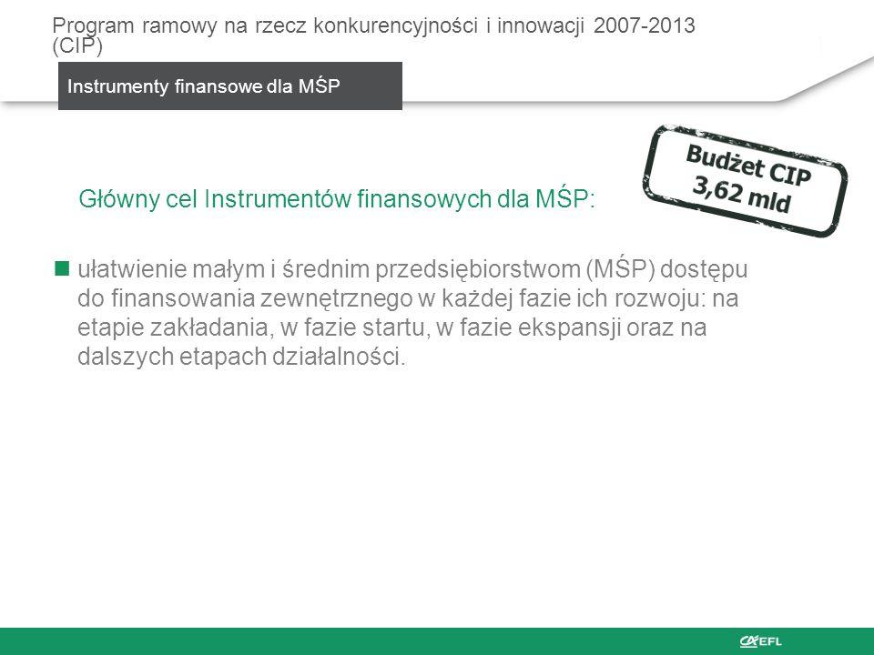 Program ramowy na rzecz konkurencyjności i innowacji 2007-2013 (CIP)