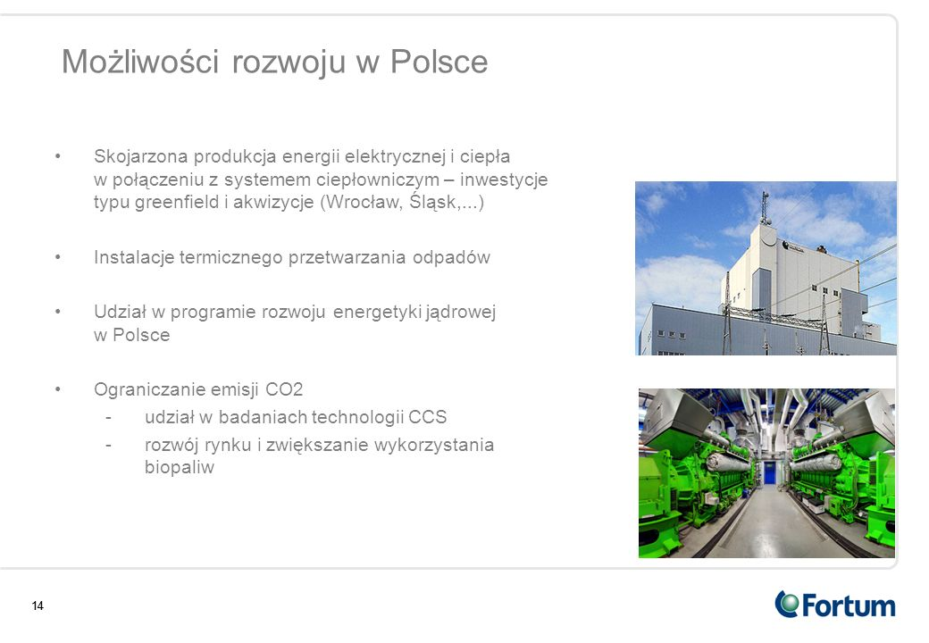 Możliwości rozwoju w Polsce