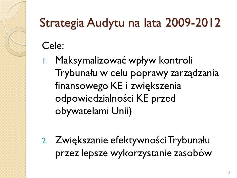 Strategia Audytu na lata 2009-2012