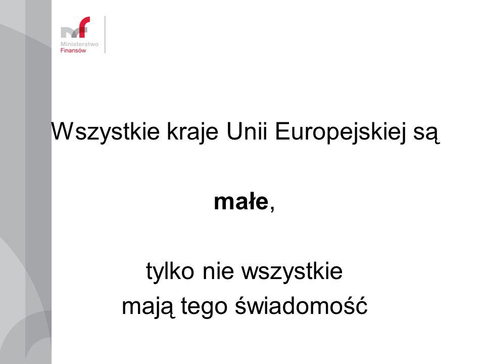 Wszystkie kraje Unii Europejskiej są