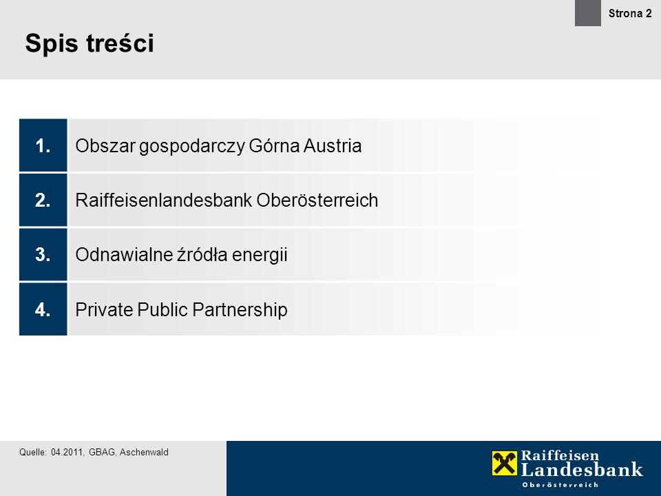 Spis treści 1. Obszar gospodarczy Górna Austria 2.