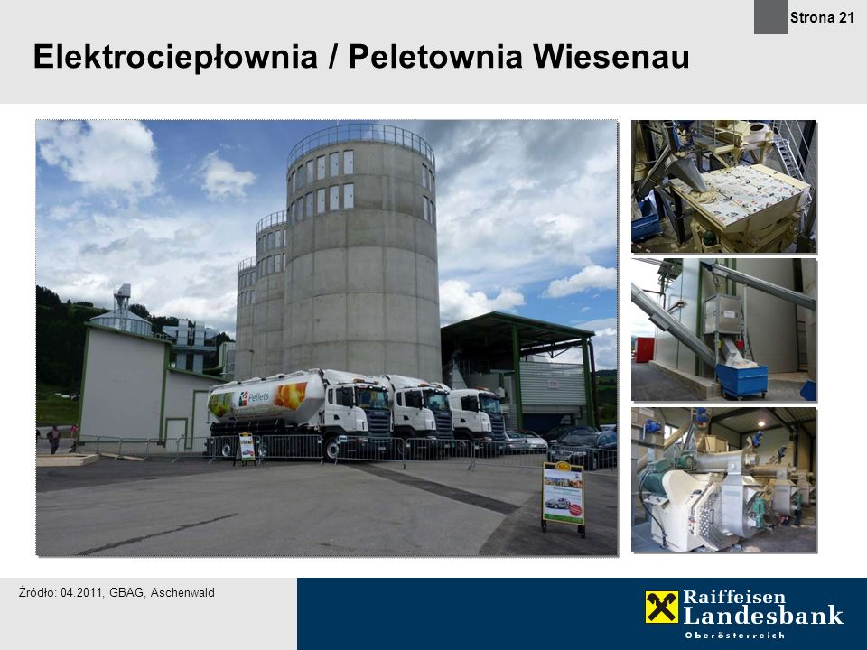 Elektrociepłownia / Peletownia Wiesenau