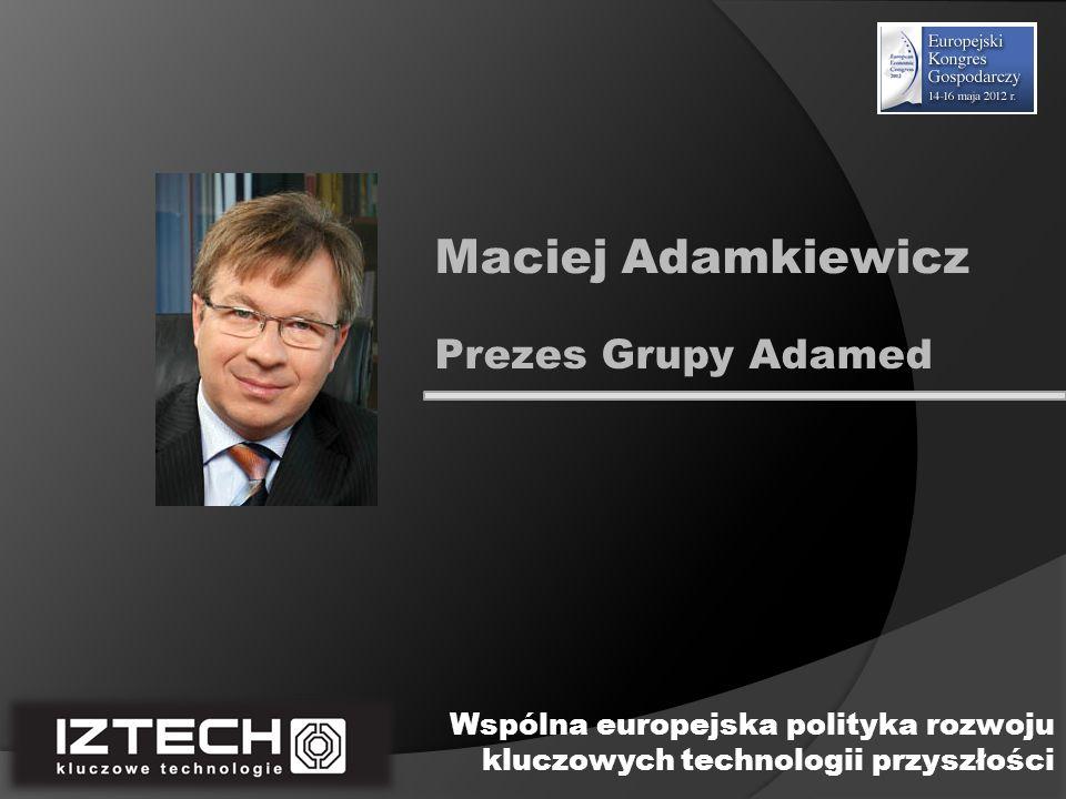 Maciej Adamkiewicz Prezes Grupy Adamed