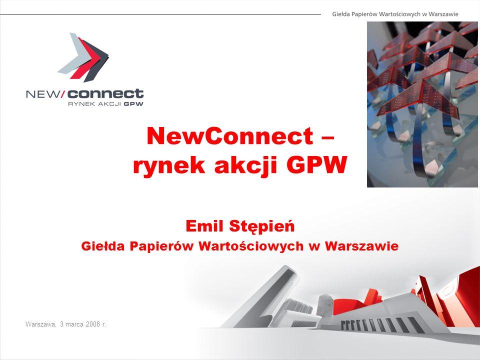 NewConnect – rynek akcji GPW