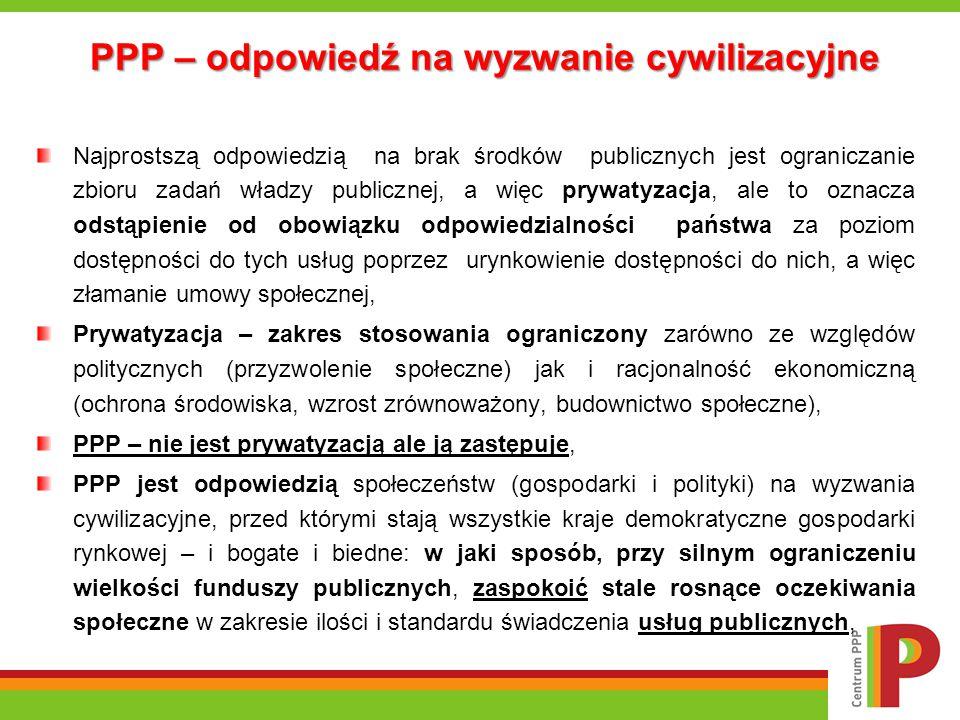 PPP – odpowiedź na wyzwanie cywilizacyjne