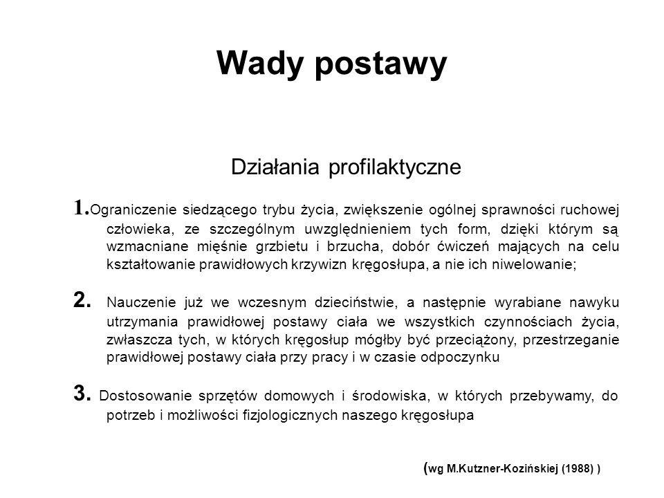 (wg M.Kutzner-Kozińskiej (1988) )