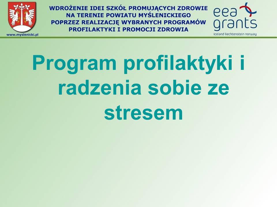 Program profilaktyki i radzenia sobie ze stresem