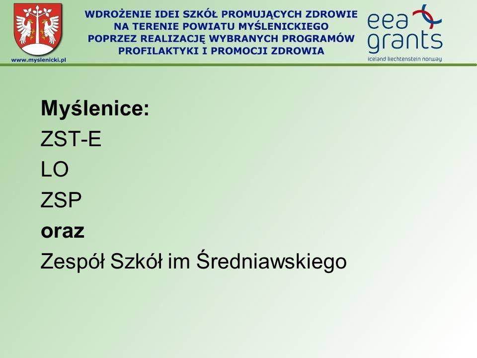 Myślenice: ZST-E LO ZSP oraz Zespół Szkół im Średniawskiego