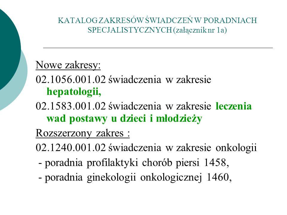 02.1056.001.02 świadczenia w zakresie hepatologii,