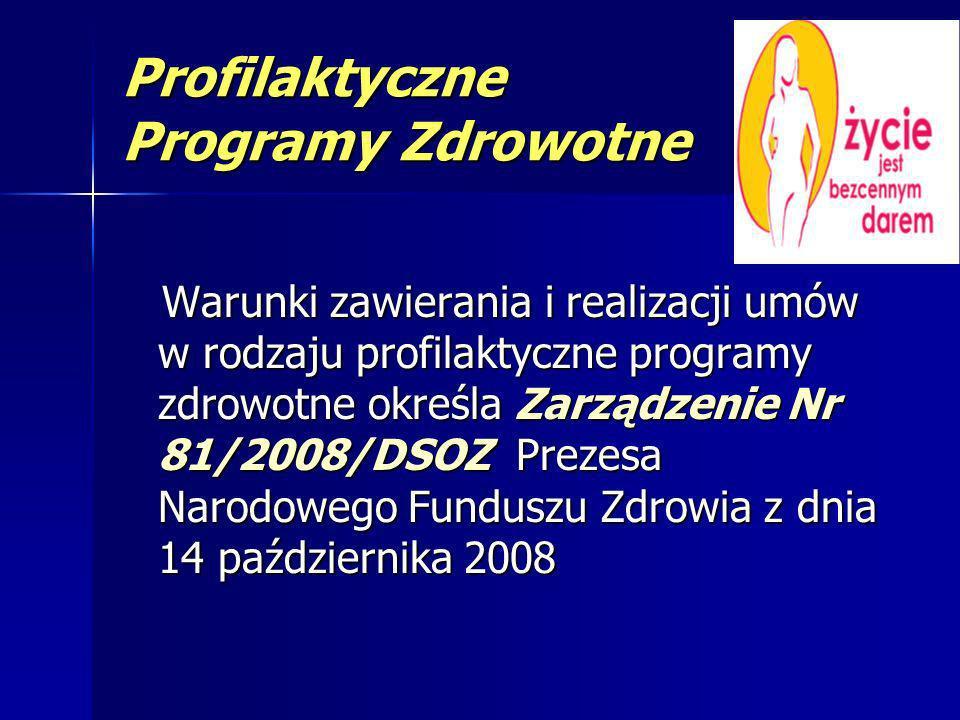 Profilaktyczne Programy Zdrowotne