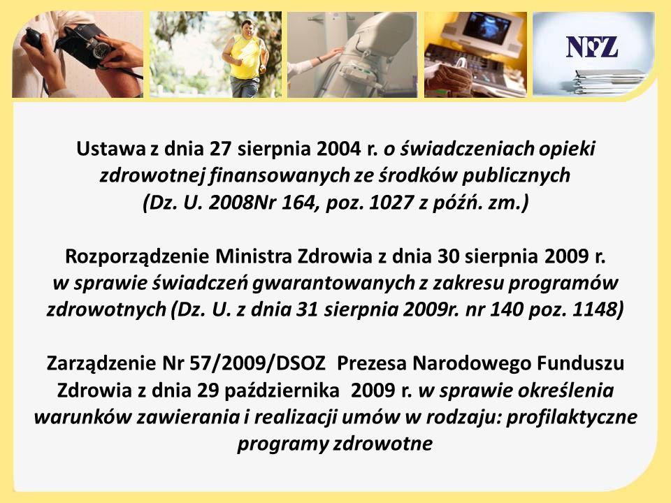 Ustawa z dnia 27 sierpnia 2004 r