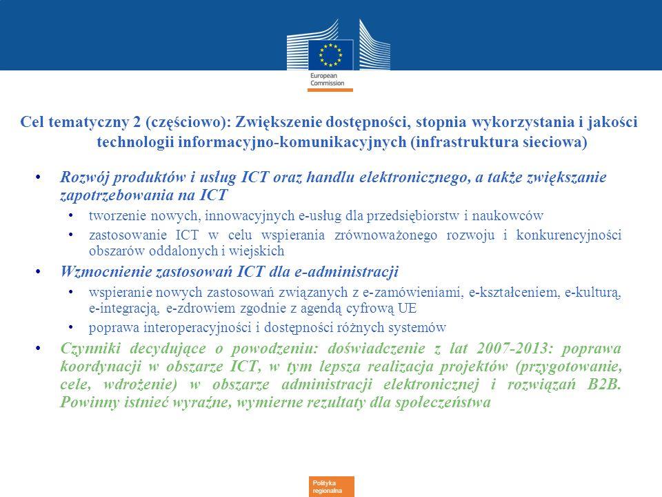 Wzmocnienie zastosowań ICT dla e-administracji