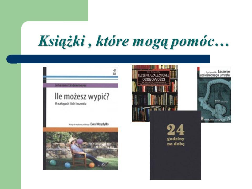 Książki , które mogą pomóc…