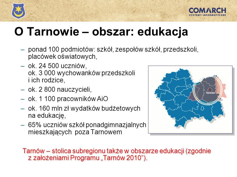 O Tarnowie – obszar: edukacja