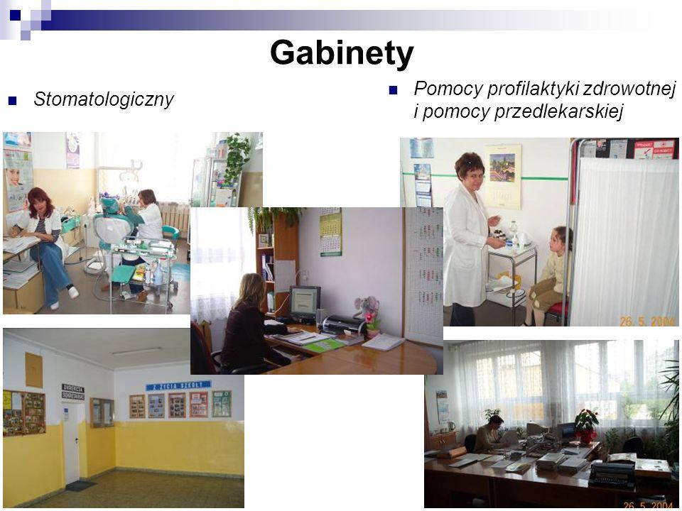 Gabinety Pomocy profilaktyki zdrowotnej i pomocy przedlekarskiej