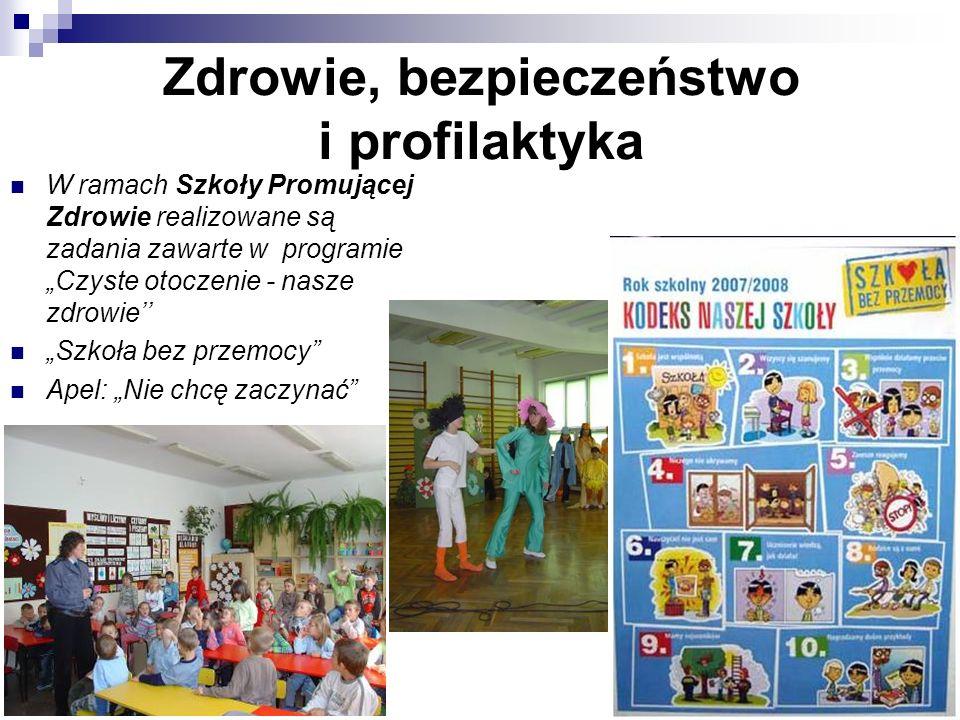 Zdrowie, bezpieczeństwo i profilaktyka