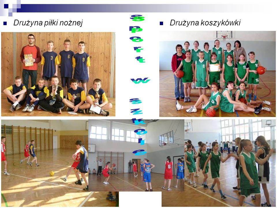 Drużyna piłki nożnej Drużyna koszykówki Sport w szkole