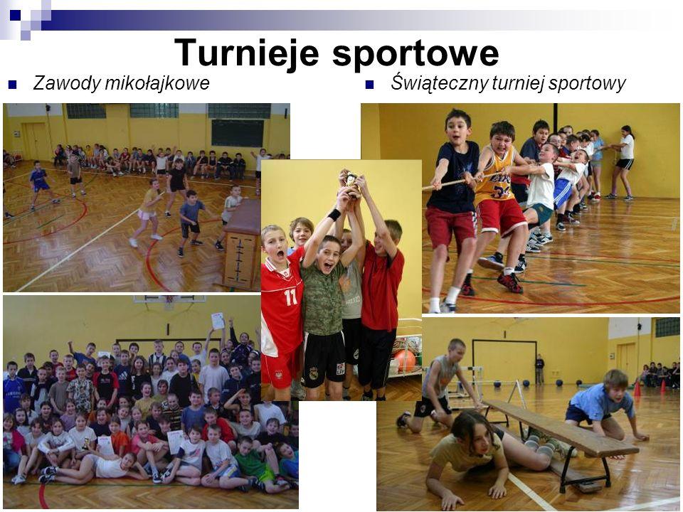 Turnieje sportowe Zawody mikołajkowe Świąteczny turniej sportowy