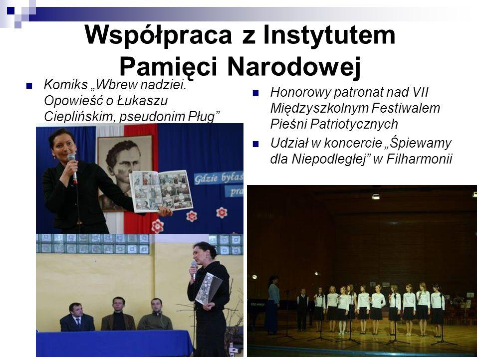 Współpraca z Instytutem Pamięci Narodowej