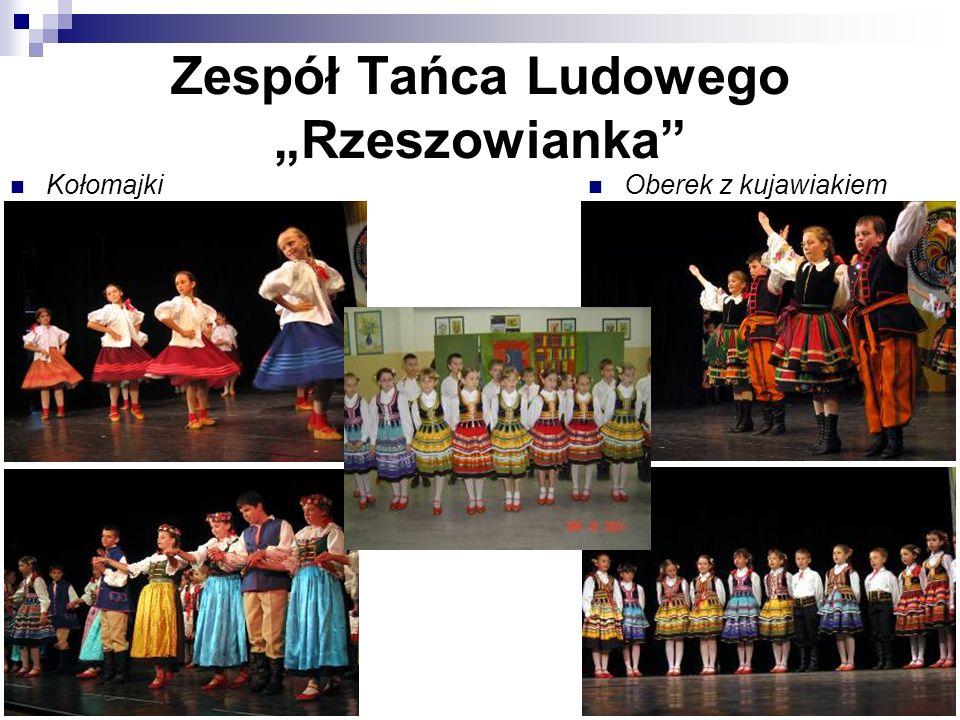 """Zespół Tańca Ludowego """"Rzeszowianka"""