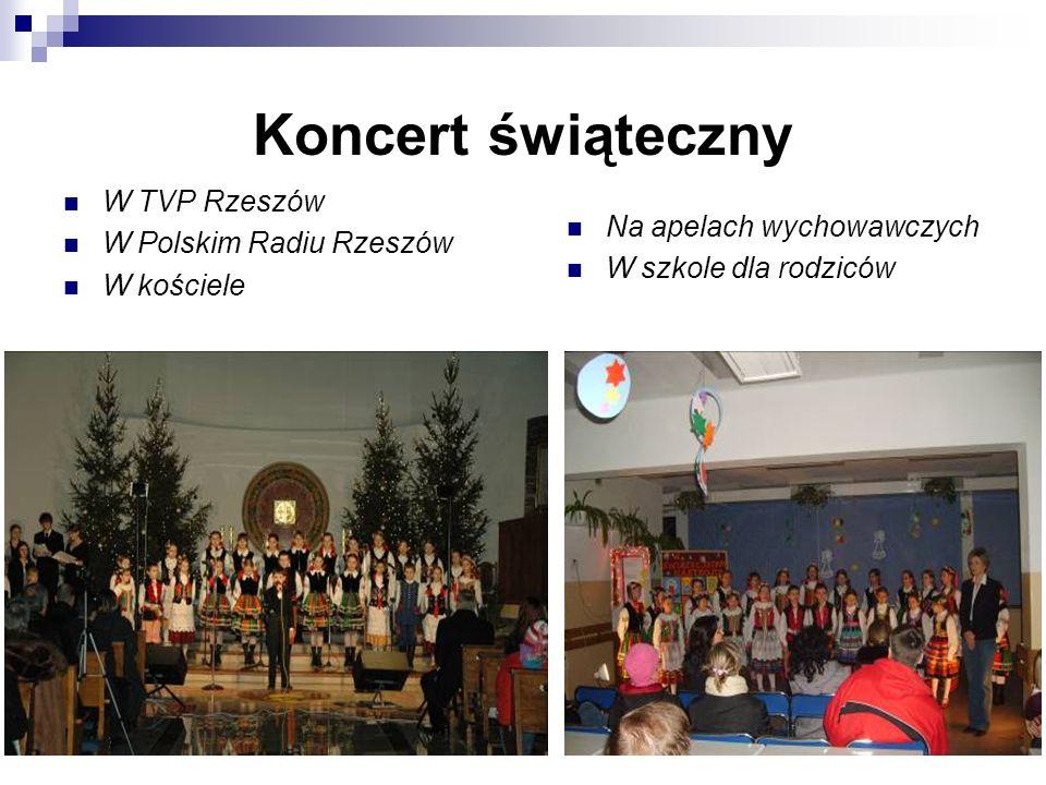 Koncert świąteczny W TVP Rzeszów W Polskim Radiu Rzeszów