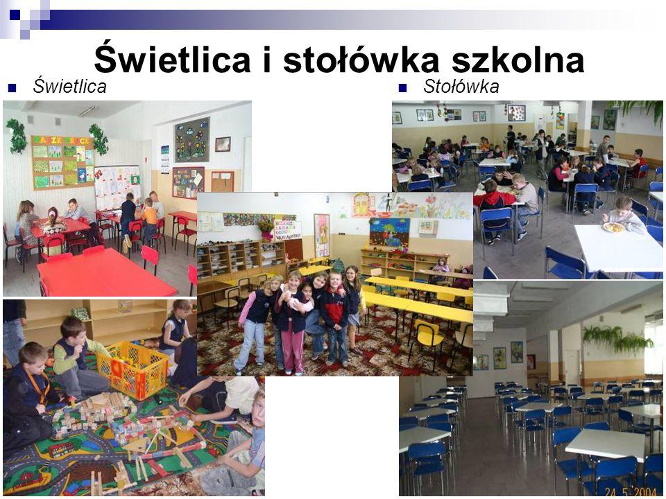 Świetlica i stołówka szkolna