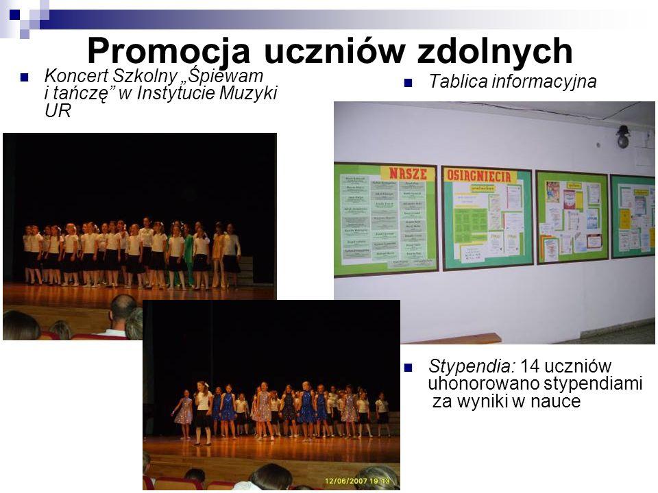Promocja uczniów zdolnych