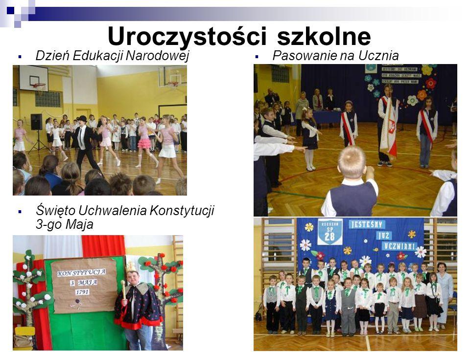 Uroczystości szkolne Dzień Edukacji Narodowej