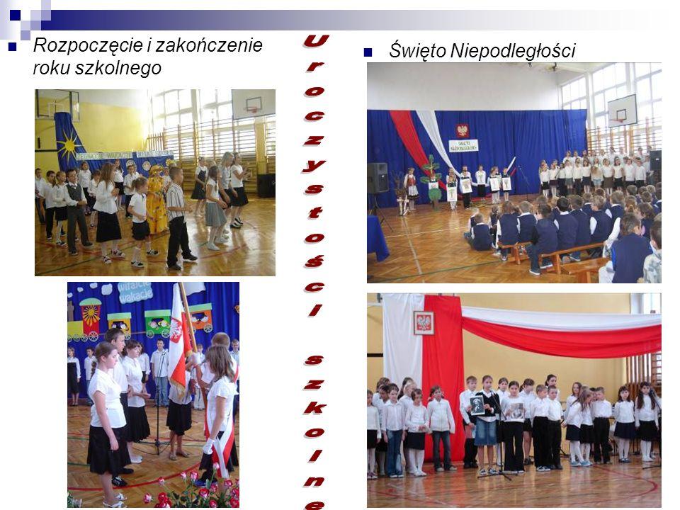Uroczystości szkolne Rozpoczęcie i zakończenie roku szkolnego
