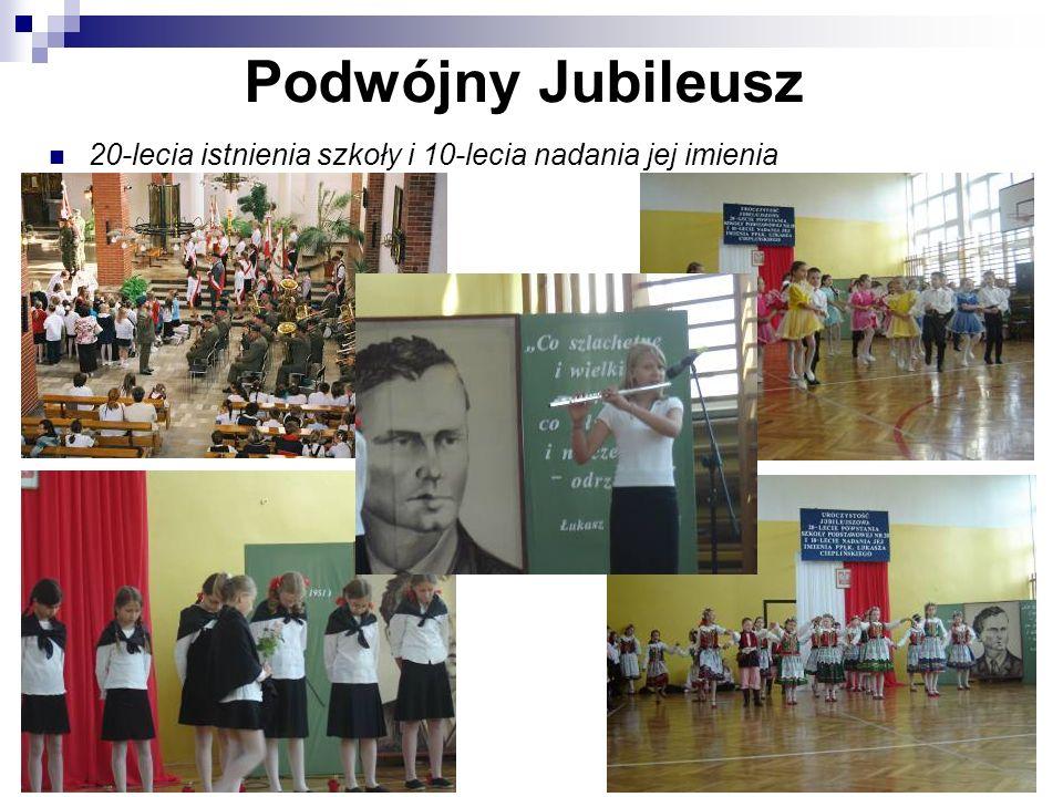 Podwójny Jubileusz 20-lecia istnienia szkoły i 10-lecia nadania jej imienia