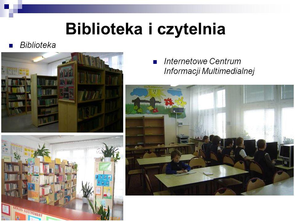 Biblioteka i czytelnia