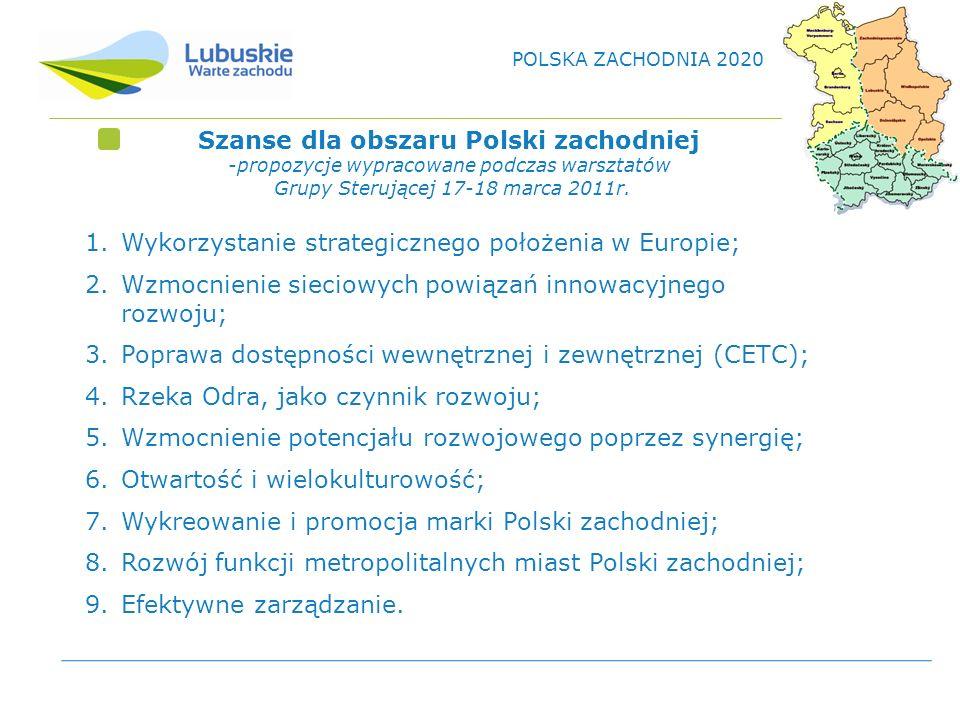Szanse dla obszaru Polski zachodniej