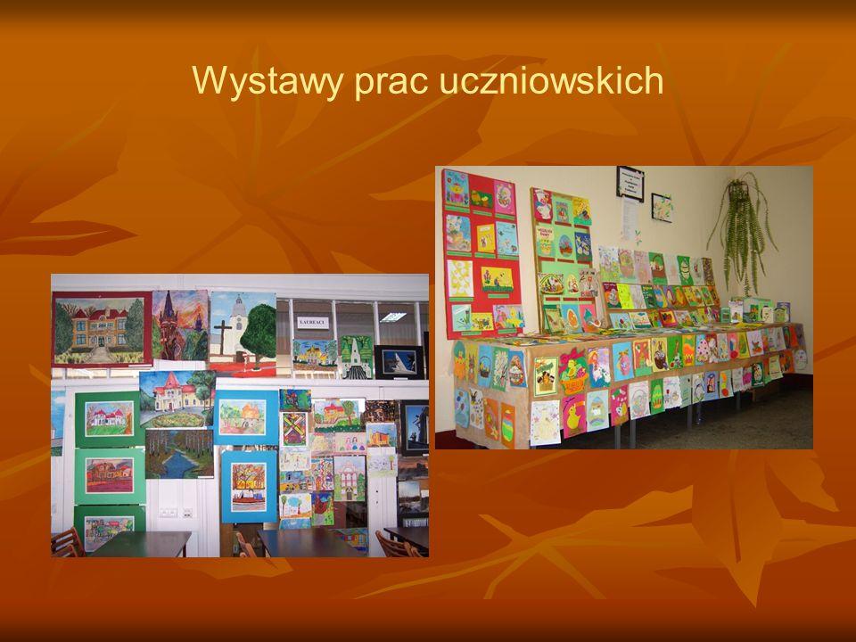 Wystawy prac uczniowskich