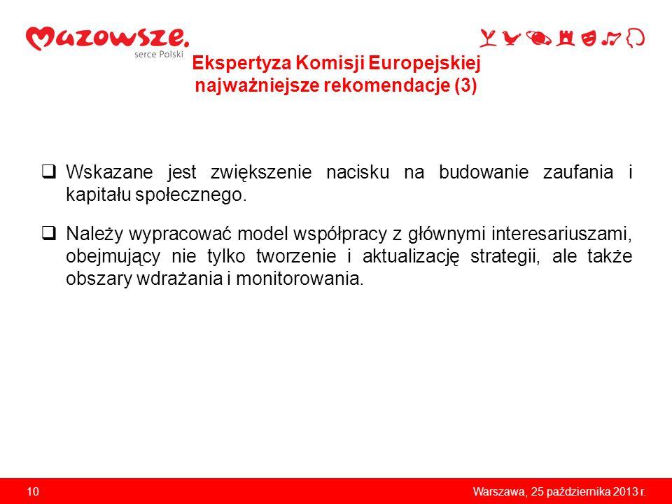 Ekspertyza Komisji Europejskiej najważniejsze rekomendacje (3)