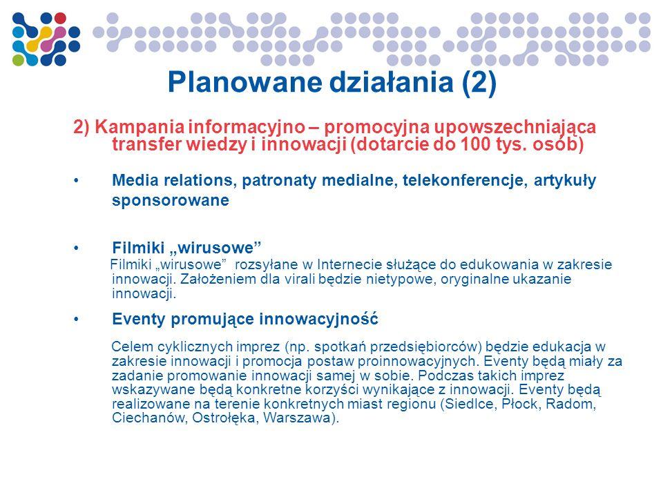 Planowane działania (2)