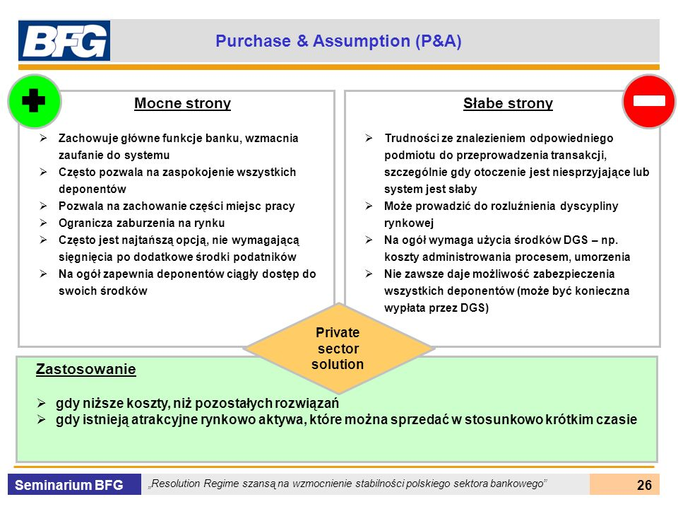 Purchase & Assumption (P&A)