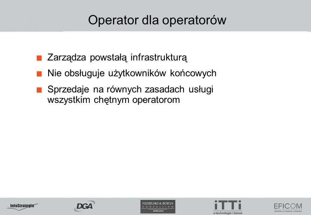 Operator dla operatorów