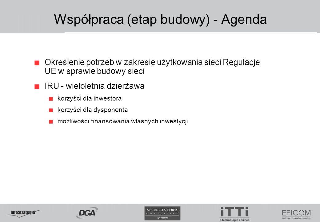 Współpraca (etap budowy) - Agenda