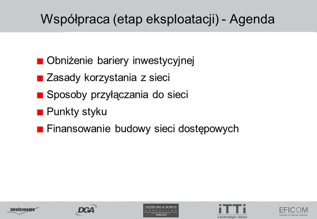 Współpraca (etap eksploatacji) - Agenda