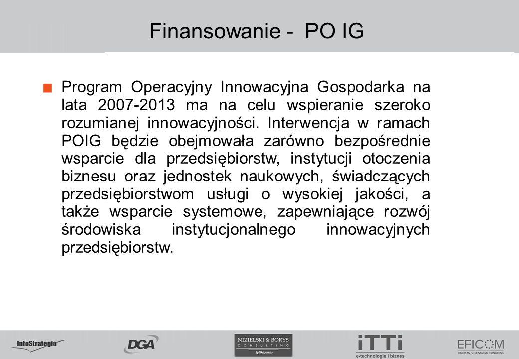 5.02.09 Finansowanie - PO IG.