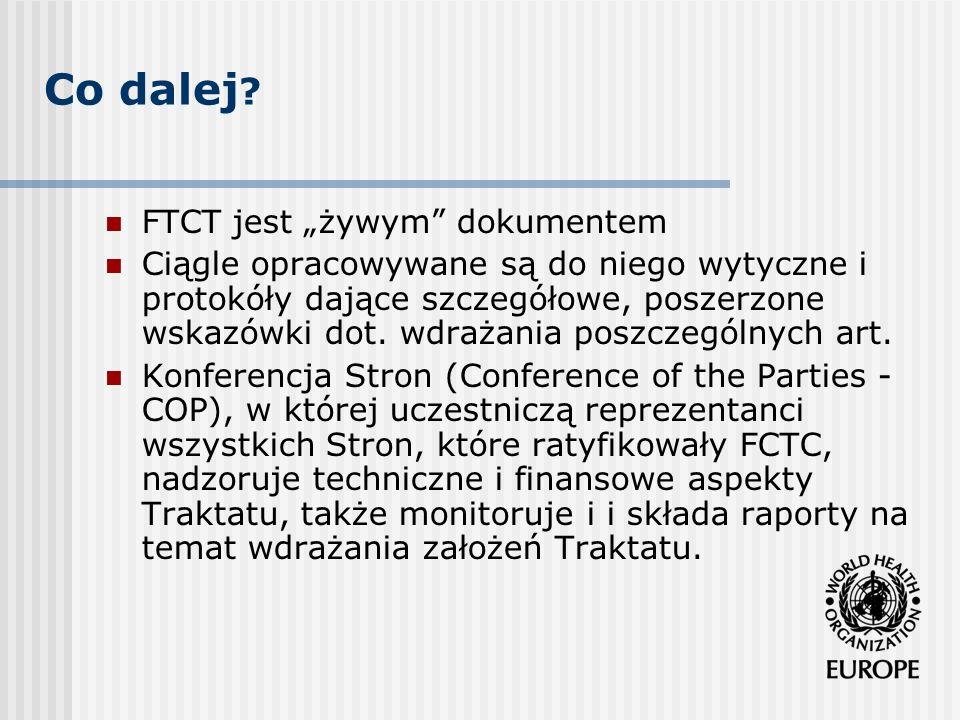 """Co dalej FTCT jest """"żywym dokumentem"""