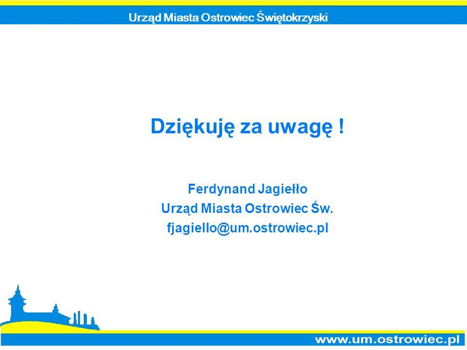 Urząd Miasta Ostrowiec Świętokrzyski Urząd Miasta Ostrowiec Św.