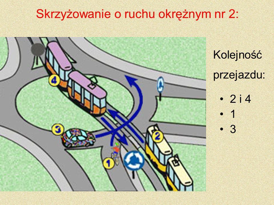 Skrzyżowanie o ruchu okrężnym nr 2: