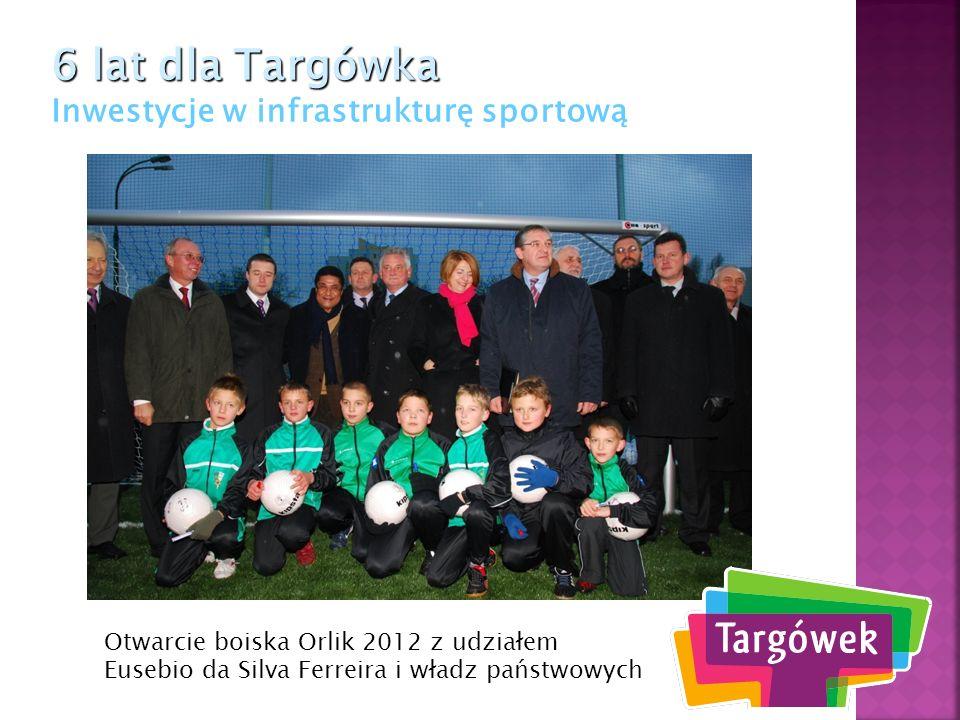6 lat dla Targówka Inwestycje w infrastrukturę sportową