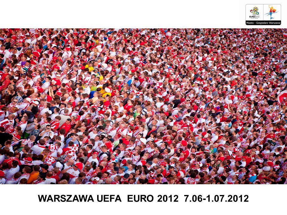 WARSZAWA UEFA EURO 2012 7.06-1.07.2012