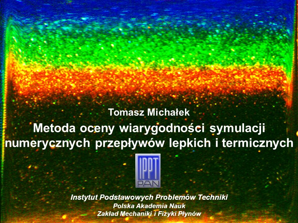 Zakład Mechaniki i Fizyki Płynów