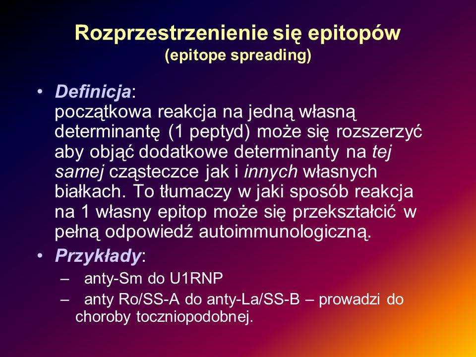 Rozprzestrzenienie się epitopów (epitope spreading)