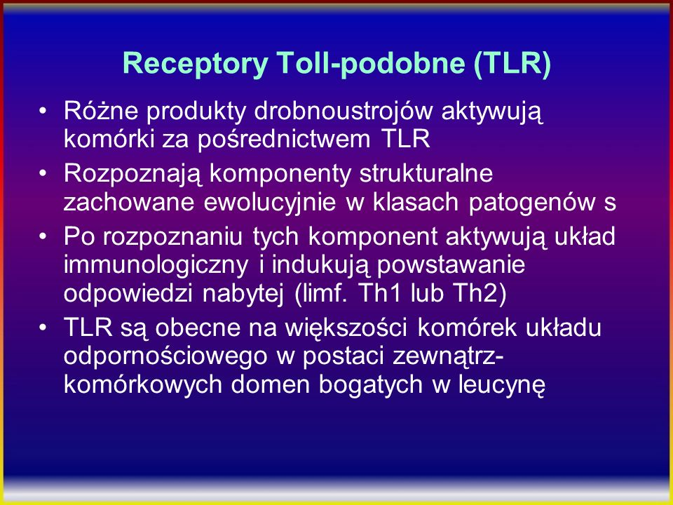 Receptory Toll-podobne (TLR)