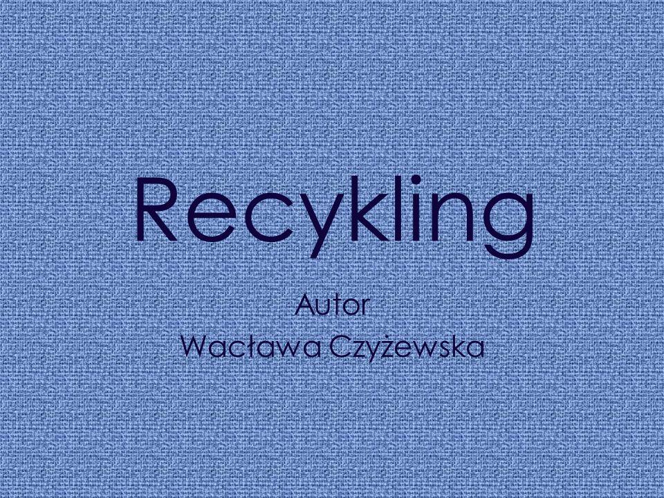 Autor Wacława Czyżewska
